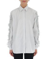 Marco De Vincenzo - Ruffled Shirt - Lyst