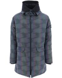 Stone Island - Scarabeo Quilled Jacket - Lyst