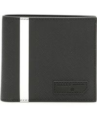Bally - Stripe Detail Wallet - Lyst