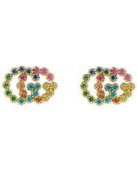 Gucci - Studded GG Running Earrings - Lyst