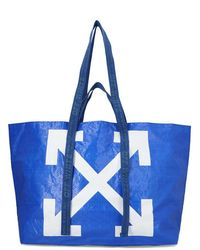 Off-White c/o Virgil Abloh - Arrow Print Large Tote - Lyst