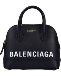 Balenciaga - Red Ville Leather Tote - Lyst