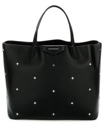Givenchy - Studded Logo Tote Bag - Lyst