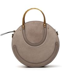 Chloé - Suede Small Pixie Bag - Lyst