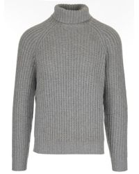 Brunello Cucinelli - Ribbed Turtleneck - Lyst