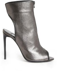 Tom Ford - Open Toe Zipped Bootie - Lyst