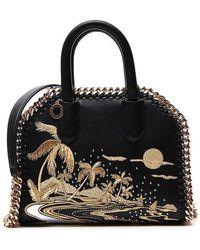Stella McCartney - Embroidered Box Falabella Tote - Lyst