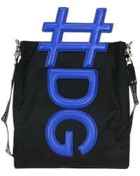 Dolce & Gabbana - #dg Messenger Bag - Lyst