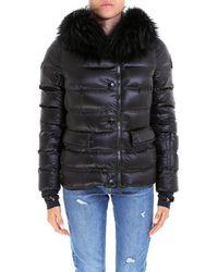 Moncler Grenoble - Fur Collar Padded Coat - Lyst