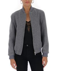 Thom Browne - Wool Bomber Jacket - Lyst