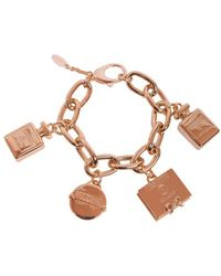 Moschino - Pendant Chain Bracelet - Lyst
