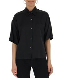 Theory - Short Sleeve Shirt - Lyst