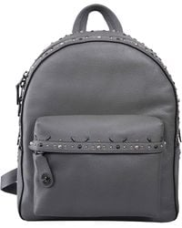 COACH - Campus Embellished Leather Backpack - Lyst