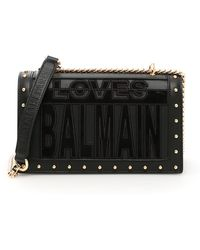 Balmain - Loves Shoulder Bag - Lyst