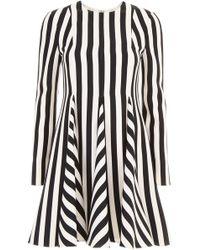 Valentino - Re-edition Striped Dress - Lyst