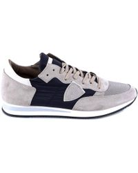 Philippe Model - Tropez Logo Patch Trainers - Lyst