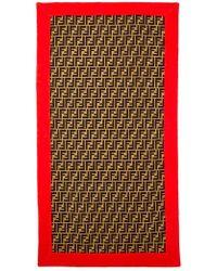 Fendi - Monogram Beach Towel - Lyst