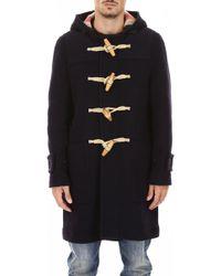 Burberry - Hooded Duffle Coat - Lyst
