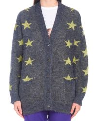 N°21 - Intarsia Stars Cardigan - Lyst