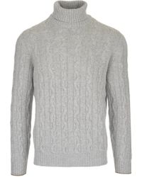 Brunello Cucinelli - Turltleneck Sweater - Lyst