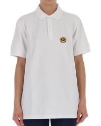Burberry - Oversized Polo Shirt - Lyst
