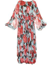 Dolce & Gabbana - Floral Balloon Jumpsuit - Lyst
