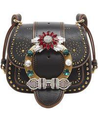 Miu Miu - Jewel Embellished Dalia Bag - Lyst