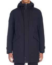 Herno - Hooded Coat - Lyst