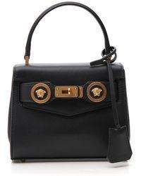 Versace - Small Icon Handbag - Lyst