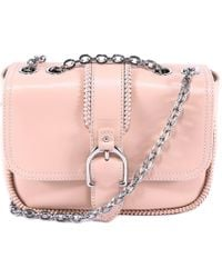 Longchamp - Buckle Shoulder Bag - Lyst