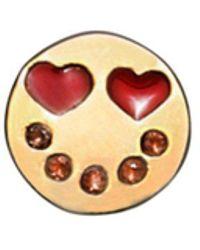 Marc Jacobs - Heart Eye Single Stud Earring - Lyst
