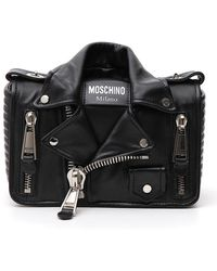 Moschino - Biker Shoulder Bag - Lyst