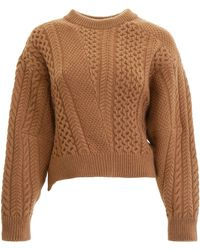 Stella McCartney - Oversized Sleeves Sweater - Lyst