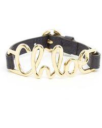 Chloé - Logo Bracelet - Lyst
