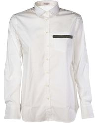 Brunello Cucinelli - Regular Fit Shirt - Lyst