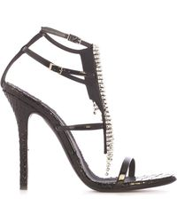 Giuseppe Zanotti - Embellished Sandals - Lyst