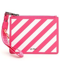 Off-White c/o Virgil Abloh - Striped Pouch - Lyst