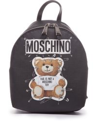 b5fc1341387c Mini Cream Bunny-ears Backpack in Black - Lyst
