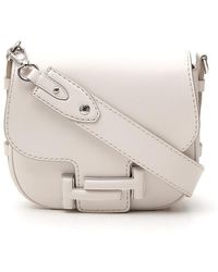 Tod's - Double T Crossbody Bag - Lyst