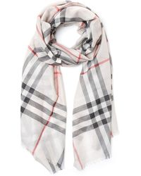Burberry - House Check Scarf - Lyst
