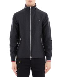 Dior Homme - Zipped High Neck Jacket - Lyst
