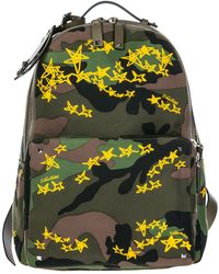 Valentino - Garavani Studded Camouflage Backpack - Lyst