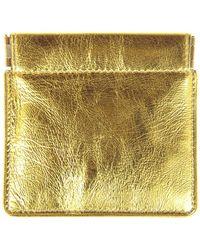 Dries Van Noten - Metallic Cardholder - Lyst