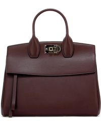Ferragamo - The Studio Tote Bag - Lyst