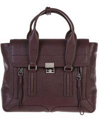 3.1 Phillip Lim - Medium Pashli Leather Tote Bag - Lyst
