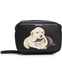 Balenciaga - Puppy And Kitten Everyday Crossbody Bag - Lyst