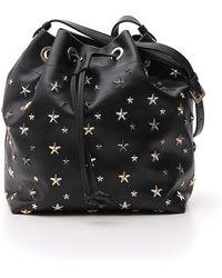 Jimmy Choo - Juno Star Studded Bucket Bag - Lyst