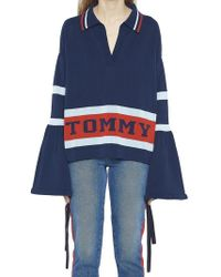 Tommy Hilfiger - Hilfiger Collection Striped Flare Sweater - Lyst