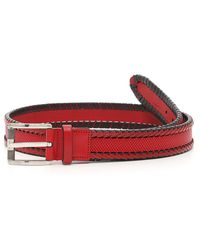 Ferragamo - Leather Belt - Lyst