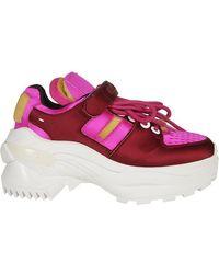 Maison Margiela - Retro Fit Satin Sneakers - Lyst